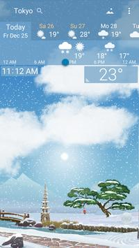 Awesome Weather YoWindow - Live Wallpaper, Widgets screenshot 7