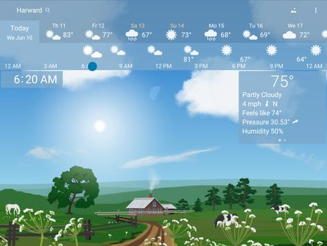 Awesome Weather YoWindow - Live Wallpaper, Widgets screenshot 8