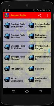 Sweden Radio - Music Streaming poster
