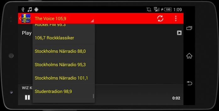 Sweden Radio - Music Streaming screenshot 22