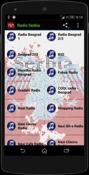 Serbia MUSIC RADIO poster
