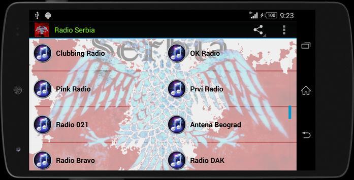 Serbia MUSIC RADIO screenshot 20