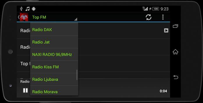 Serbia MUSIC RADIO screenshot 5