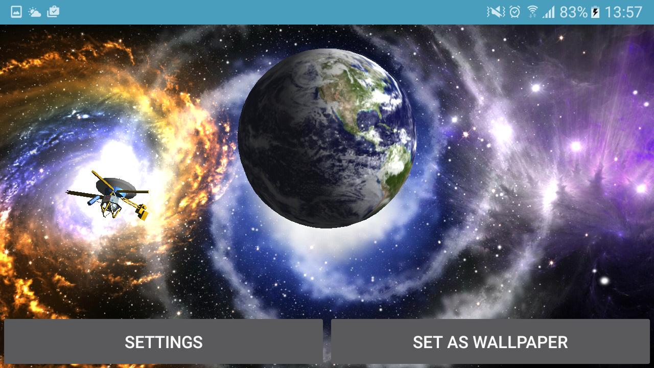 Planet Earth 3d Live Wallpaper 4k For Android Apk Download