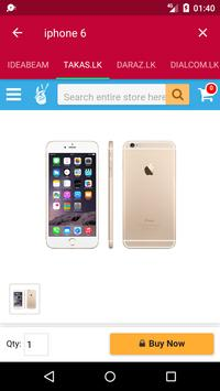 Phones Now - Search, compare phone prices SriLanka screenshot 1