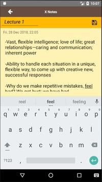 X notes screenshot 2