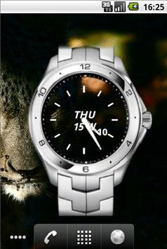 Metal Watch Widget Time poster