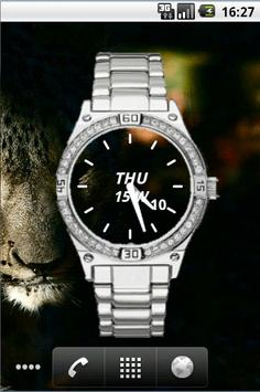 Metal Watch Widget Time screenshot 1