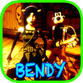 bendy & Ending the inker machine icon