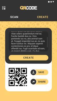 QRcode Scanner & QRcode  Creater Screenshot 2
