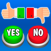 Yes or No Buttons icon