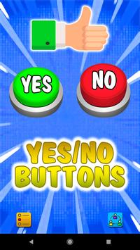 Yes or No Buttons screenshot 1