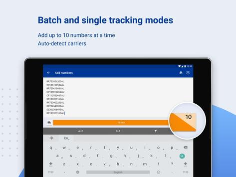 ALL-IN-ONE PACKAGE TRACKING screenshot 13