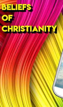BELIEFS OF CHRISTIANITY poster