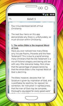 BELIEFS OF CHRISTIANITY screenshot 2