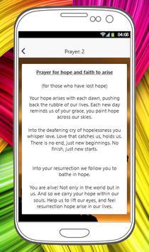 PRAYERS FOR HOPE screenshot 2