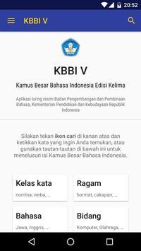 Kamus Besar Bahasa Indonesia poster