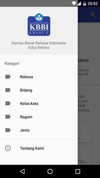Kamus Besar Bahasa Indonesia screenshot 1
