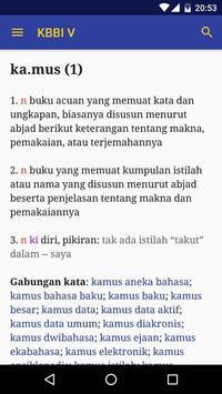 Kamus Besar Bahasa Indonesia screenshot 4