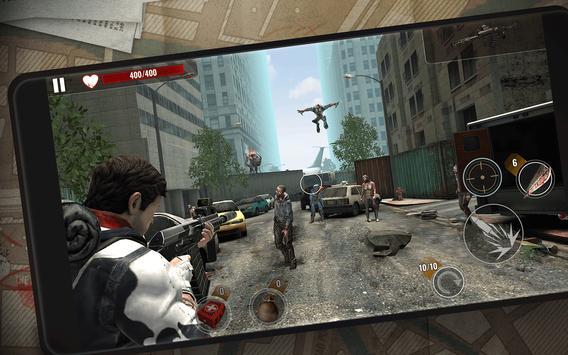 ZOMBIE SHOOTING SURVIVAL: Offline Games screenshot 1
