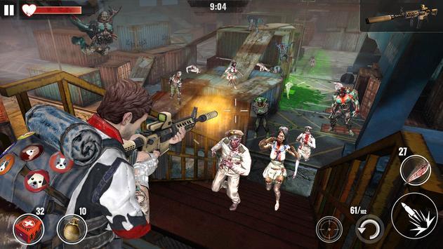 ZOMBIE HUNTER: Offline Games screenshot 2