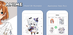 Anime - Paint by Numbers
