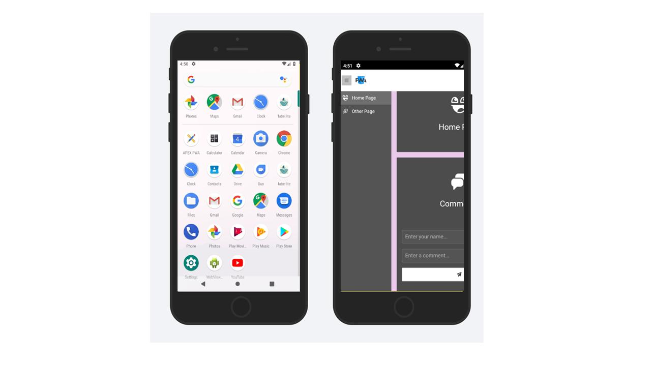 Oracle APEX PWA for Android - APK Download