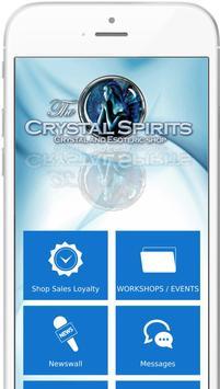 Crystal Spirits App poster