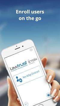 LawTrust Agent Enrolment screenshot 1