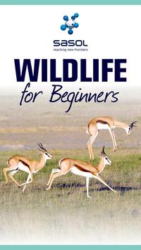 Sasol Wildlife for Beginners poster