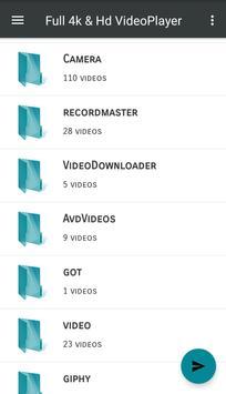 Pro Hd Video Player-4k Videos support All format screenshot 2