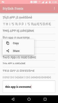 Stylish & Fancy Fonts/Text screenshot 2