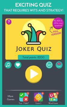 Joker Trivia Quiz screenshot 7