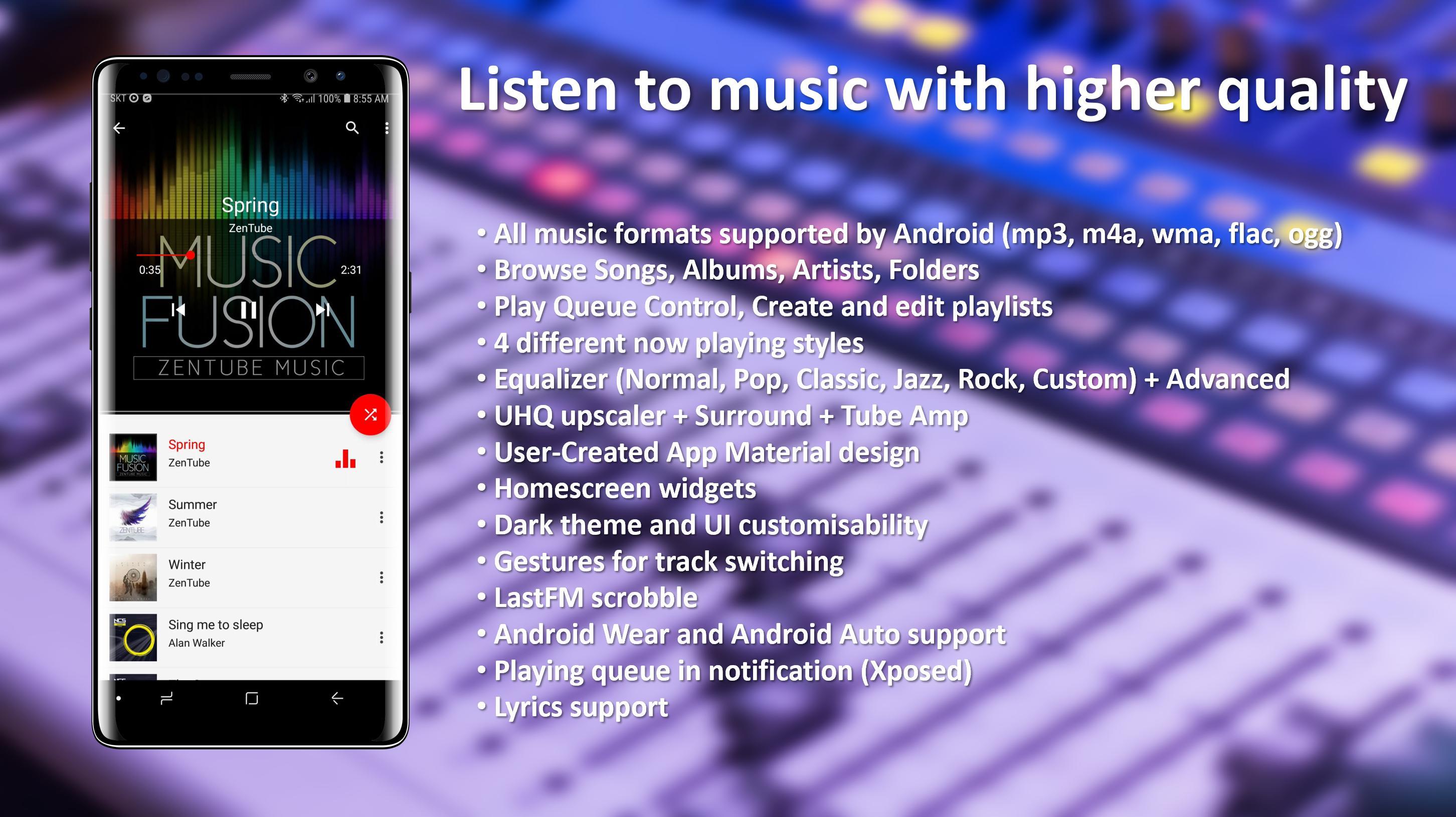 ZenTube Music для Андроид - скачать APK