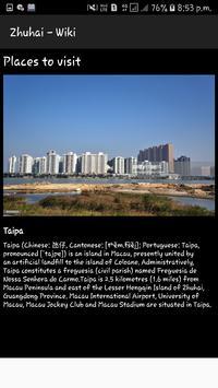 Zhuhai -Wiki screenshot 2