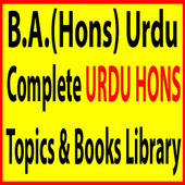 Urdu Honors Library icon