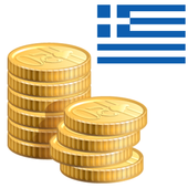 Coins from Ancient Greece icon