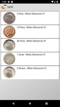Coins from Serbia screenshot 5