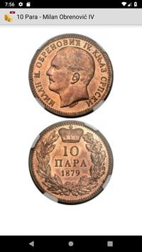 Coins from Serbia screenshot 1