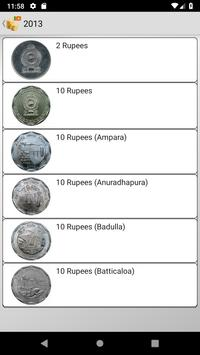 Coins from Sri Lanka poster