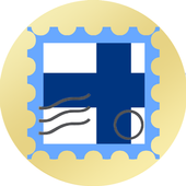 Finland postage stamp icon