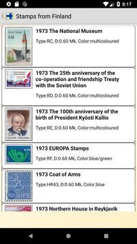 Finland postage stamp screenshot 2