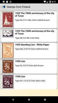 Finland postage stamp screenshot 6