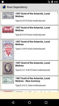 Postage Stamps of Ross Dependency screenshot 1