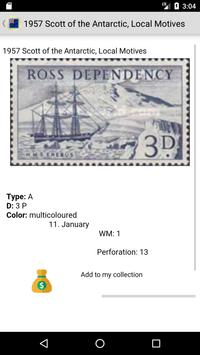 Postage Stamps of Ross Dependency screenshot 2