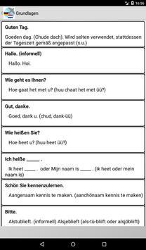 Sprachführer Niederländisch poster
