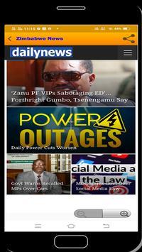 Zimbabwe News syot layar 11