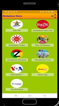 Zimbabwe News syot layar 2