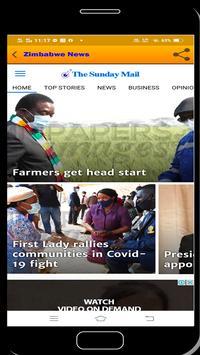Zimbabwe News syot layar 5
