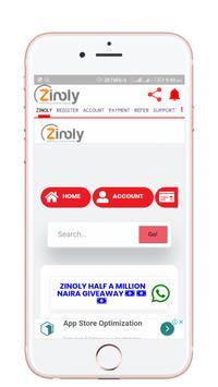 Zinoly poster